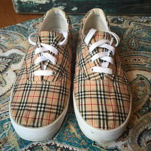 Plaid Keds Grasshoppers sneakers 7 W